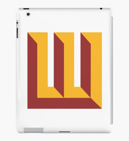 Wyoming Redskins iPad Case/Skin