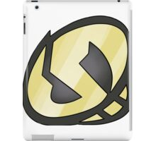 Gold Skull Logo iPad Case/Skin