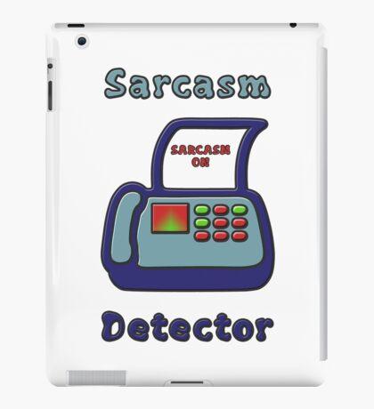 Sarcasm Detector Emoji iPad Case/Skin