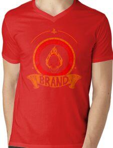 Brand -The Burning Vengeance Mens V-Neck T-Shirt