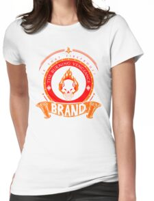 Brand -The Burning Vengeance Womens Fitted T-Shirt