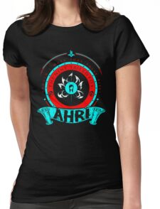 Ahri - The Nine-Tailed Fox Womens Fitted T-Shirt