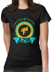 Azir - The Emperor Of The Sands Womens Fitted T-Shirt