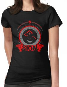 Sion - The Undead Juggernaut Womens Fitted T-Shirt