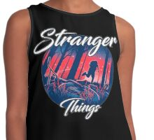 stranger things - tv series netflix Contrast Tank