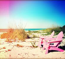 Pink Paradise I by Chris Andruskiewicz