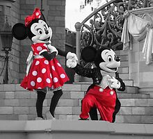 Mickey & Minnie by schermer