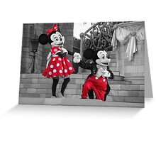 Mickey & Minnie Greeting Card
