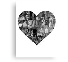 I Heart Disney Princesses Metal Print