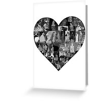 I Heart Disney Princesses Greeting Card