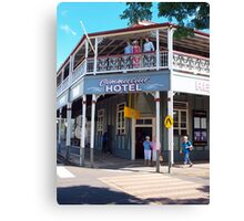 Commercial Hotel Boonah Canvas Print