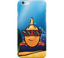 HeinyR- Goldfish with Sunglasses iPhone Case/Skin