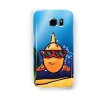 HeinyR- Goldfish with Sunglasses Samsung Galaxy Case/Skin