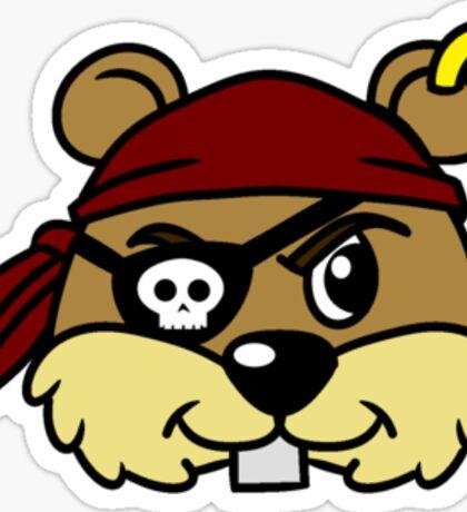 Pirate Squirrel  Sticker