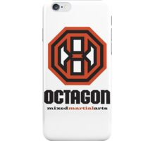 Octagon MMA Original Logo iPhone Case/Skin