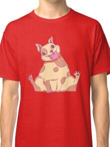 Spud, The Cake Loving Tubby Pitbull Bulldog Mutt Classic T-Shirt