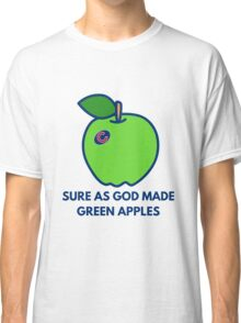 Chicago Cubs World Series Green Apples Classic T-Shirt