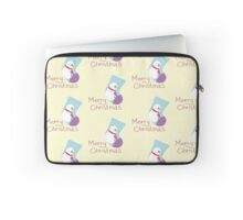 Greeting card with Christmas Laptop Sleeve