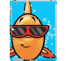 HeinyR- Goldfish with Sunglasses iPad Case/Skin