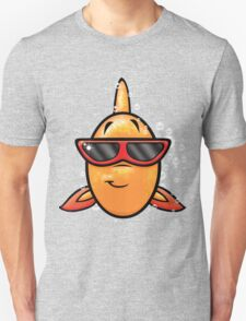 HeinyR- Goldfish with Sunglasses Unisex T-Shirt