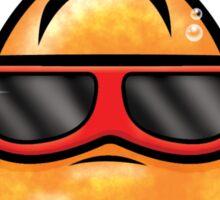 HeinyR- Goldfish with Sunglasses Sticker