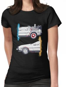 Back To The Portal  Womens Fitted T-Shirt