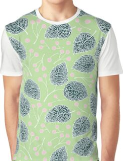 Tilia pattern / Lindenmuster Graphic T-Shirt
