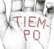 TIEMPO Sticker