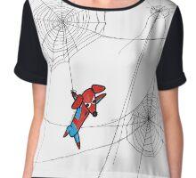 Spider-ween Chiffon Top