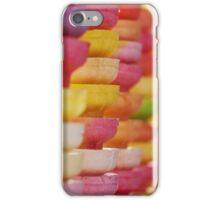 COLORFUL LAYER OF ICE CREAM CONES iPhone Case/Skin