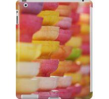 COLORFUL LAYER OF ICE CREAM CONES iPad Case/Skin
