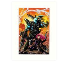 "Salty Roo ""Mutant Eradication"" Art Print"