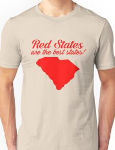 Red Best South Carolina Republican Election 2016 T-Shirt Unisex T-Shirt