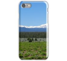 Three Sisters Mountains iPhone Case/Skin