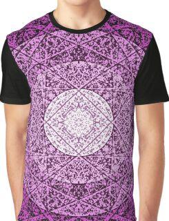 worn purple Graphic T-Shirt