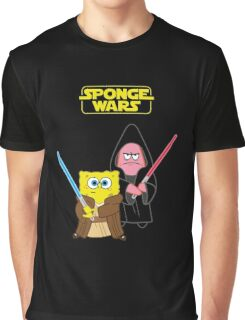 Sponge Wars Graphic T-Shirt