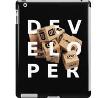 developer coder programming lenguage iPad Case/Skin
