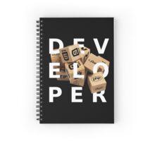 developer coder programming lenguage Spiral Notebook