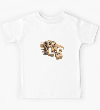 developer coder programming lenguage Kids Tee