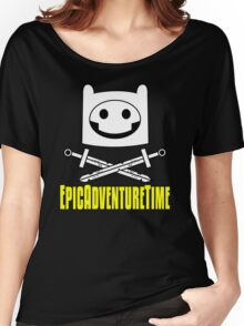 Epic Adventure Time Women's Relaxed Fit T-Shirt
