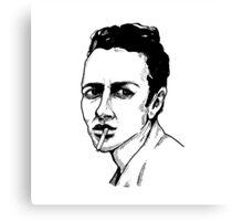 Joe Strummer Canvas Print