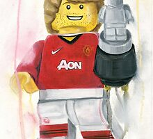Manchester United player by Deborah Cauchi