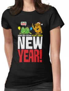 happy new year? Womens Fitted T-Shirt