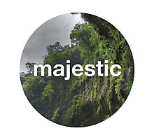 Unofficial Majestic Casual design 2 Photographic Print