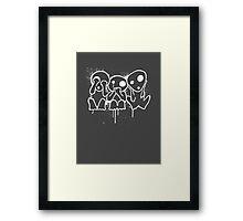 Kodama (White) Framed Print