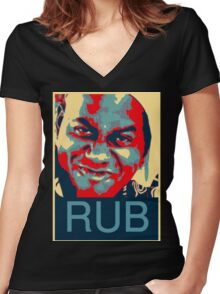 Ainsley Harriott - RUB Women's Fitted V-Neck T-Shirt