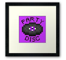 PARTY DISC (MINECRAFT) Framed Print