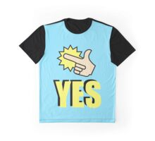 Rick & Morty yes Graphic T-Shirt