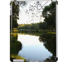 The Quiet Pond II - Royan, France. iPad Case/Skin