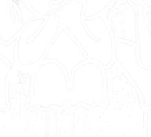 Kodama (White) Sticker